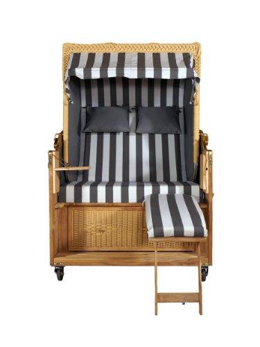 Strandkorb Kampen 2-Sitzer