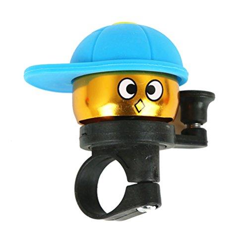 VORCOOL Kinder Fahrrad Glocke Cute Fashion Cycling Ring Glocke Nette Radfahren Sirene Mini Bells Kinder Outdoor Sports Fahrrad Zubehör (Sirene Net)