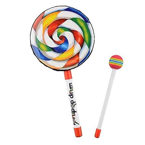 Forfar Music Drum Lollipop Shape Musical Instruments Toy Toy