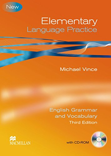 Elementary Language Practice. Student's Book with CD-ROM and key: English Grammar and Vocabulary by Michael Vince (1-Feb-2010) Perfect Paperback