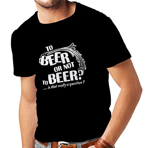 lepni.me T Shirts for Men to Beer Or - Funny Gifts, Beer Drinking Party Shirt, Sarcastic Alcohol Humor