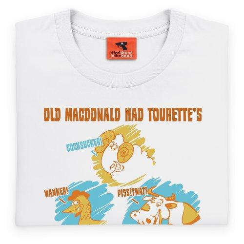 New MacDonald T-Shirt, Damen Wei