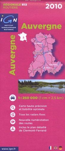 Auvergne par IGN