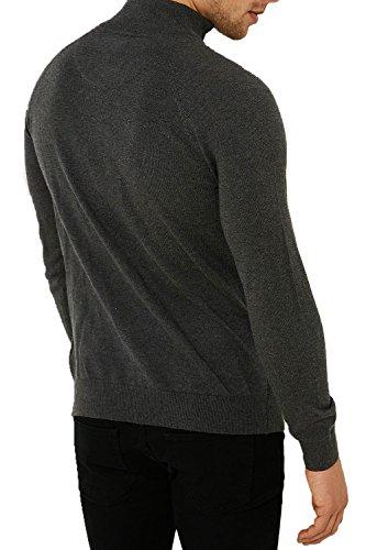 Threadbare - Pull - Homme noir noir Gris foncé