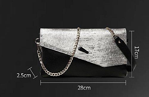 TaoMi Homw- Handtaschen-Mädchen-neue Art- und Weisewilder Temperament-Handbeutel-weiblicher großer Kapazitäts-Bankett-Beutel-Handtasche / mit Schultergurt, Handgelenkbügel Grün