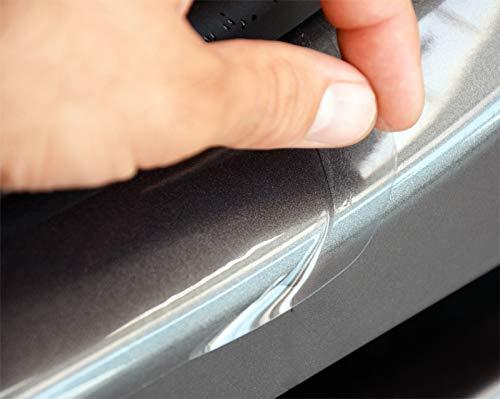 WGS Einstiegsleisten Lackschutzfolie Einstiegschutz Schutzfolie Transparent Extra Stark 240µm (1386-107)
