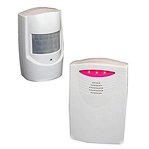 Détecteur de Présence - Sans fil - Alarme ou Carillon