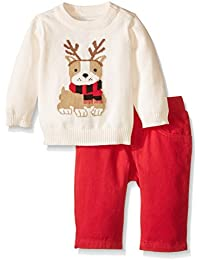 The Children's Place Baby-Boys Reindeer Sweater Set