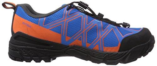Shimano - SH-MT54, Scarpe ciclismo, unisex Blu (Blue/Orange)