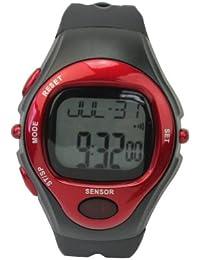 Unisex Reloj Deportivo de Pulsera Pulsómetros Contador Ritmo Cardíaco Caloría