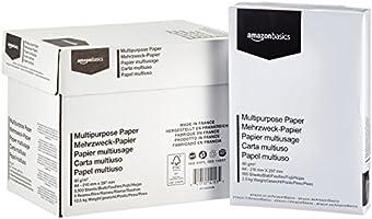 AmazonBasics Papier multiusage - 5 rames - 2500 feuilles