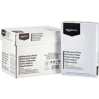 AmazonBasics - Carta da stampa multiuso, 5 risme, 2500 fogli