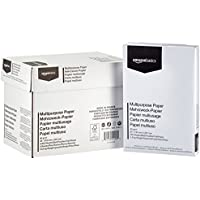 AmazonBasics - Papel multiusos para impresora - 5 resmas - 2500 hojas