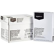 AmazonBasics Papel multiusos para impresora A4 80gsm, 5x500 hojas, blanco