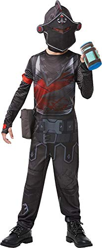 Rubies Kostüm Jungen Mehrfarbig, S, Höhe 140 - Black Knight Kostüm