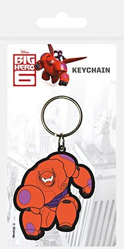Disney Big Hero 6Baymax Gummi Schlüsselanhänger (Big Hero Six Marvel)