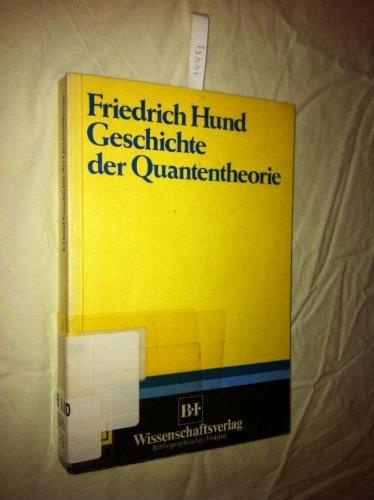 Buchcover: Geschichte der Quantentheorie