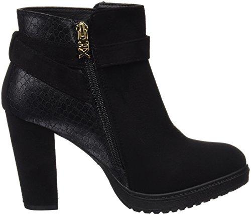 XTI Damen 047291 Booties Black (Schwarz)