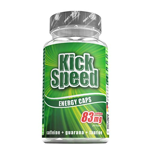 Best Body Nutrition Kick Speed, 60 Kapseln Dose (3er Pack)