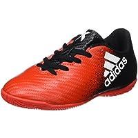 adidas X 16.4 IN J - Botas de fútbolpara niños, Rojo - (Rojo/FTWBLA/Negbas), 34