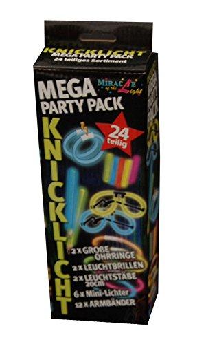 Classic Line 0612-126 - Knicklicht Mega-Party-Pack, 24-teilig, mehrfarbig