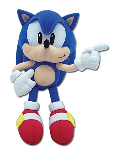 GE Animation Sonic the Hedgehog: Classic Sonic Plush