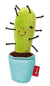 Sigikid 41436Grasp Cactus/Estrellas Suave Juguete, Rojo, 15x 5x 5cm