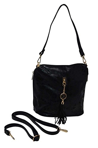 Gallantry, Borsa a spalla donna Marrone marrone nero