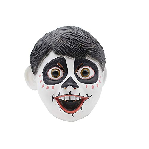 Little Kostüm Boy Für Up - mi ji Halloween-Maske Ganzkopfmaske New Latex Little Boy Teufel Kopfbedeckung Stil Film Props für Partei-Festival oder Tanz-Party