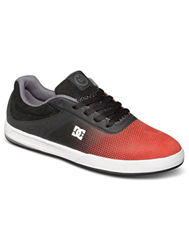 DC , Chaussures de skateboard pour homme Black/Red/White