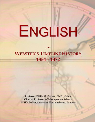 English: Webster's Timeline History, 1854 - 1872