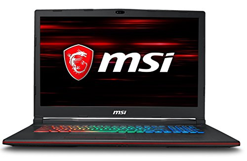 "MSI GP73 Leopard 8RE-213IT Notebook da Gaming, Display da 17.3"", Processore Intel i7-8750H, 16 GB di RAM, SSD da 128 GB NVMe e HDD da 1 TB, Scheda Grafica nVidia GTX 1060 [Layout Italiano]"