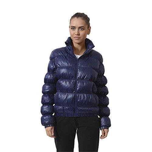 Adidas veste essentials synth down bomber Bleu - marine