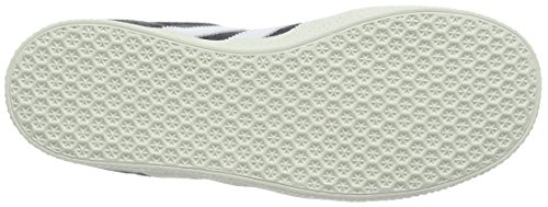 adidas Gazelle, Baskets Basses Mixte Enfant Gris (Dgh Solid Grey/Ftwr White/Gold Metallic)