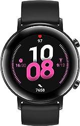 HUAWEI Watch GT 2 Sport (42 mm), [Exklusiv +5EUR Amazon Gutschein], Night Black
