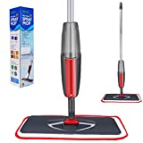 Amabana Microfiber Floor Spray Mops Water Spraying Cleaner for House Kitchen Hardwood