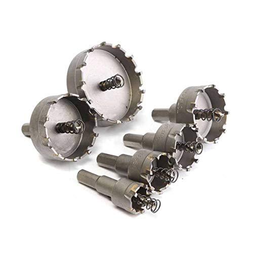 Corneliaa 6 Pcs HSS Tronçonneuse Set Carbure Astuce TCT Core Foret Scie Trépan Pour Alliage En Acier Inoxydable Cutter Outil Électrique Accessoires
