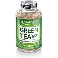 IronMaxx Green Tea – Grüntee-Extrakt in Kapseln – 1 x 130 Kapseln (115,4g)