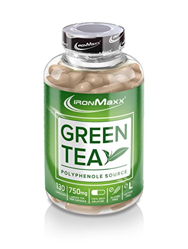 Ironmaxx 910mg Green Tea Extract Capsules - Pack of 130 Capsules