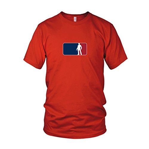 Logan League - Herren T-Shirt Rot