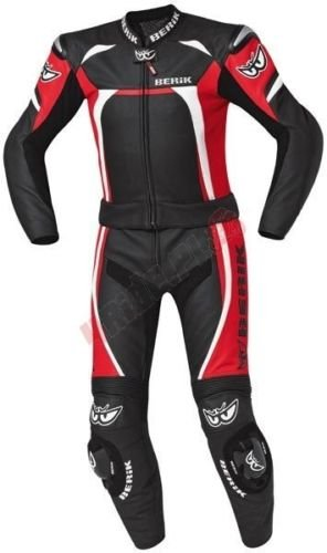 BERIK EVOLUTE Motorradkombi zweiteilig ! NEU ! Gr. 54 rot schwarz weiß von BikerWorld