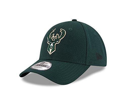 New Era Herren 9Forty Milwaukee Bucks Kappe, Grün, M Buck Cap