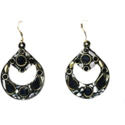 Traditional Indian Fancy Gemstone Earring For Women