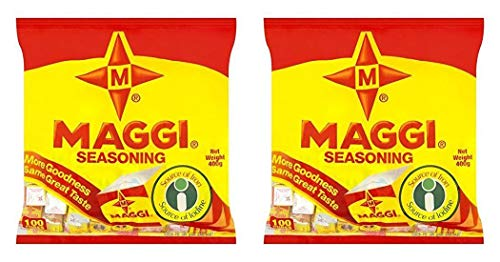 (Pack of 2) Maggi Seasoning Cubes (100 Cubes) 400g - Product of Nigeria