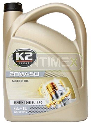 Motoröl Öl voll-synthetisch 20W-50 Nanotechnologie Benzin-Motoren Benziner LPG-Motoren Diesel-Motoren 5l ACEA A3-02/B3-98#2, API SL/CF, Mercedes-Benz MB 229.1, Volkswagen VW 501.01/505.00