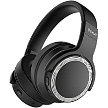 iDeaPLAY Active Noise Cancelling Kopfhörer, Over-Ear kabellose Kopfhörer mit Bluetooth 4.0, eingebautes Mikrofon, Wireless HiFi Stereo Headset mit Geräuschreduzierung, 28 Stunden Spielzeit