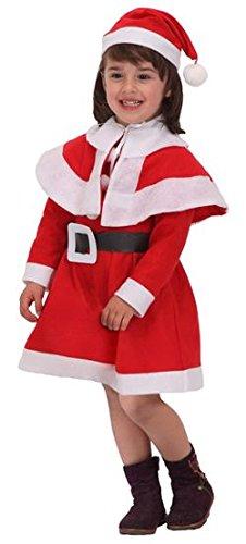 Mama Claus Kostüm - ATOSA-B/Kleiderbügel Mama Kostüm Weihnachtsmann Mädchen T-1
