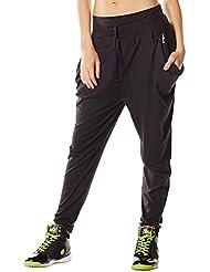 Zumba Aztec Pantalon d'entraînement en jersey pour femme
