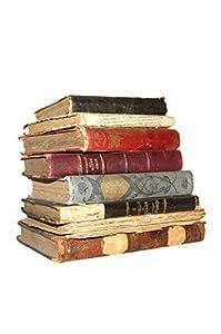 Wallmonkeys WM217133 Old Books Peel and Stick Wall Decals
