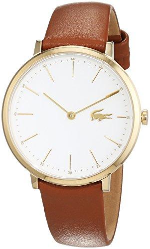 Lacoste Damen-Armbanduhr, Braun/Weiß, 2000947